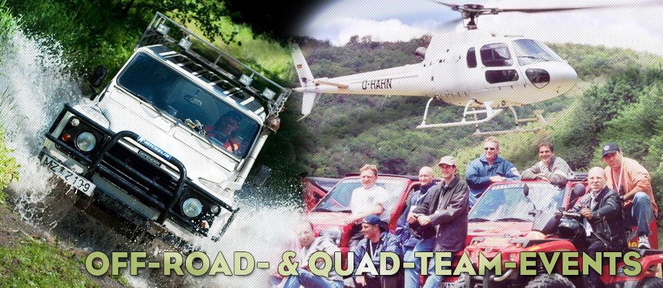 Off-road- & Quad-Team-Events